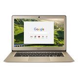 Acer Chromebook 14, Aluminio, 14 Pulgadas Full Hd, Intel Ce