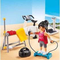 Retromex Playmobil 5578 Sala De Gimnasio Casa Moderna Ciudad