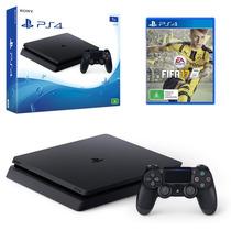 Play Station 4 Slim 500gb Fifa17 O Uncharted 4 Ps4 Garantía!