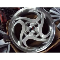 Roda 15 Esportiva 4x100 Modelo De Moto Gol Celta Palio Clio