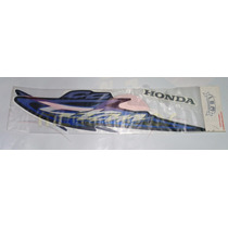 Jogo De Adesivos Completo Cg Titan 125 Kse 2003 Azul - Lbm