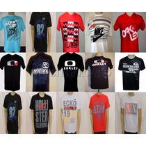 Lote C/ 20 Unidades De Camisetas Camisas Masculinas Atacado