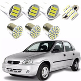 Kit Lâmpada Led Chevrolet Classic Corsa Sedan 2003 2004 2005