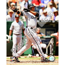 Poster (20 X 25 Cm) Ken Griffey Jr. 2008 Batting Action