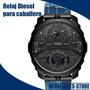 Reloj Diesel Dz7381 Machinus Correa Jean Para Caballero