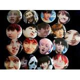Pins Botones Bts Memes Caras Raras Kop Coreano