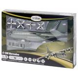 Avión Hércules C-130 De Testors Modelo Kit (escala 1:130)