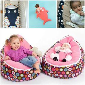 Puff Para Bebés + Bolsa De Dormir Tuburoncin! Regalo Ideal