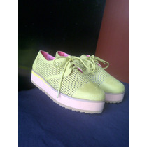 Zapatos Para Damas Suela Gruesa Importados