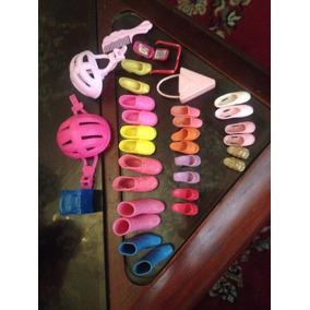 Accesorios De Barbie Zapatos, Carteras, Lentes Original