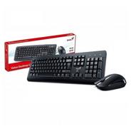 Combo Mouse+ Teclado Genius Km-160 Usb Oficina Silencioso