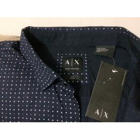Camisa Armani Exchange Premuim Slim Ajustee... Nueva Línea