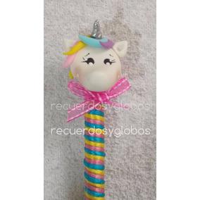 Plumas Unicornio Recuerdos Xv Años, Cumpleaños, Baby Shower