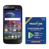 Smartphone Prepago Zte Zmax Champ 4g Lte De Tracfone Con Exc