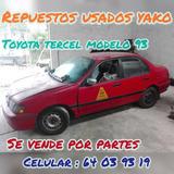 Repuestos Usados , Toyota Tercel 93