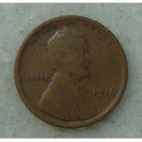 1800 - Usa One Cent, Ano 1918, Sem Letra, 19 Mm - Ver Fotos