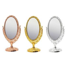20 Espelhos Mesa Maquiagem Aumento Princesas Kit Atacado