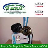 Punta De Trípoides Chery Arauca-qq6-x1-s21