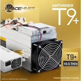 Antminer T9+ (10.5 Th/s) + Fuente De Poder _ Nuevas