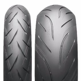 Combo Pneu Moto Bridgestone S21 120/70-17 + 200/55-17