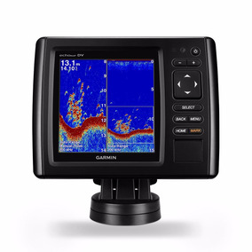 Gps/sonar Garmin 52dv/cv Chirp C/ Carta Nautica Região Norte