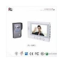Porteiro Eletrônico, Camera Monitor 7p Destrava Portão Rl-06