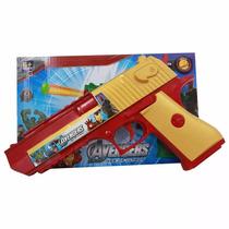 Pistola Nerf Homem De Ferro Lançador Dardos Desert Eagle P