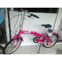 Bicicleta Plegable Aluminio R20 Cambios