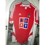 Jersey Playera Benfica De Portugal Año 2005 Chica Adulto