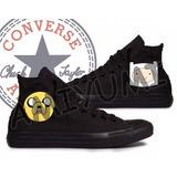 All Star Converse Hora Da Aventura Tênis Botinha Custom