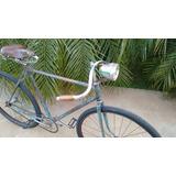 Bicicleta Antiga Italiana Aro 28 (quadro Parecido Bianchi)