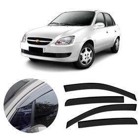 Calha Defletor Chuva Gm Corsa Sedan / Hatch 4 Portas