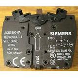 Bloque Auxiliar Siemens 3sb3 400 0a 1 Na+1nc