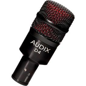Audix Microfone P/ Instrumento D4 Shure Akg Sennheiser Novo
