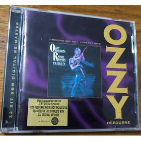 Cd Ozzy Osbourne - Tribute Edição Limitada Autografado
