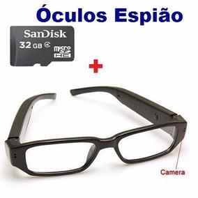Óculos Espião Com Camera Espiã +32gb Classe 4