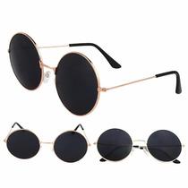 Oculos De Sol Redondo Ozzy - Lennon Proteção Solar Uv400