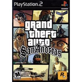 Jogo Patch Gta San Andreas Em Português Ps2 Playstation 2