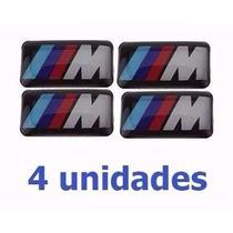 Mini Emblema Bmw M Motorsport Volante Rodas M3 M5 X1 X5 X6