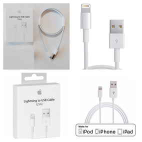 Cable Usb Apple Original Ipad Ipod Iphone 7 6s 6 5s 5c 5