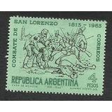 150 Aniv.combate De San Lorenzo-1963(673). Argentina