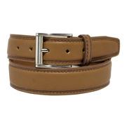 Cinturón Hombre Vestir Studebaker Doble Costura Cuero