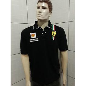 Camisa Gola Polo Ferrari Gg
