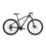 Bicicleta Oggi 29 Hacker Kit Shimano Pto/larja Brind Capacet