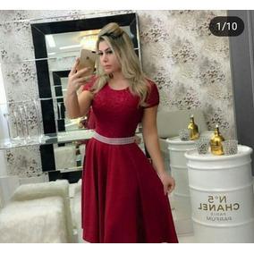 Vestido Longo Godê De Festa Madrinha Casamento E Formatura