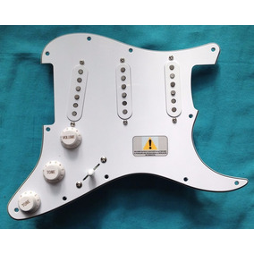 Pickguards Ds Para Stratocaster Texas Fully Pre-wired Ds-p1