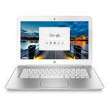 Laptop Hp Chromebook 14 Hd Intel Inside 16gb 4gb Plata