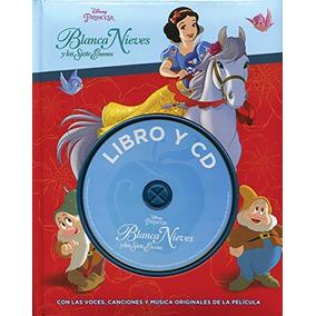 Disney Libro Y Cd: Blanca Nieves Varios Autores