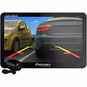 Gps Automotivo Discovery 7 Tv Digital Câmera Ré Nota Fiscal
