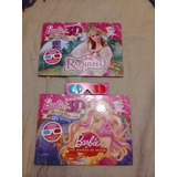 Barbie Rapunzel + Barbie Aventura De Sirenas + 1 Lente 3 D